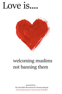 Welcoming muslims not banning them