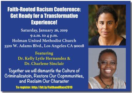 2019 JNJ Faith & Race Conference flyer