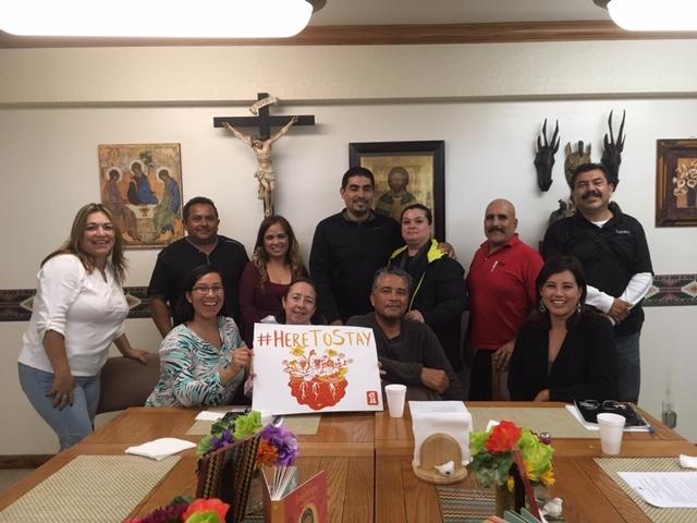 Photo of Fe y Justicia visitation volunteers